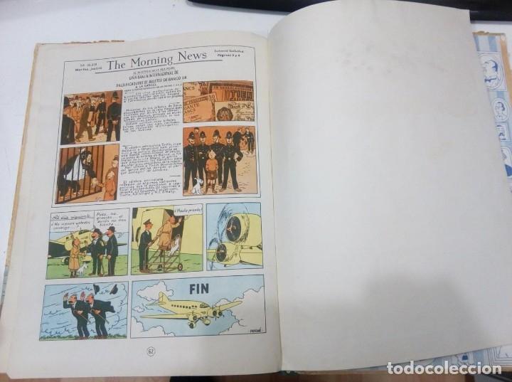 Cómics: HERGE - TINTIN - LA ISLA NEGRA - ED. JUVENTUD 1961, 1ª PRIMERA EDICION - CON EL DIFICIL LOMO VERDE - Foto 9 - 155610022