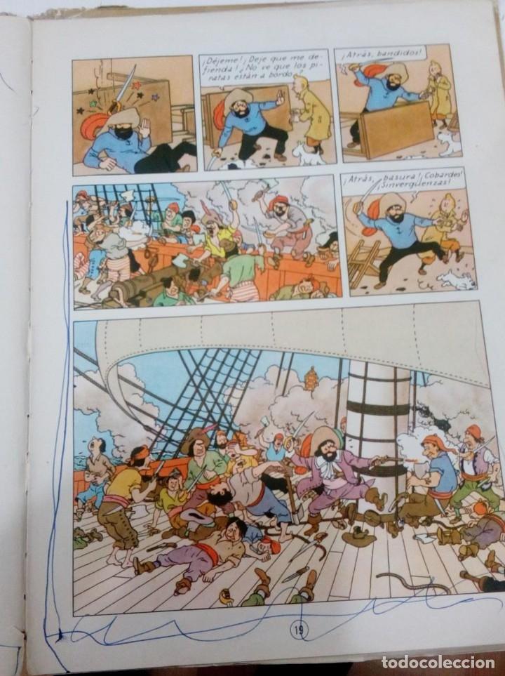 Cómics: HERGE - TINTIN - EL SECRETO DEL UNICORNIO - JUVENTUD 1959, 1ª PRIMERA EDICION - VER DESCRIPCION - Foto 7 - 155611334