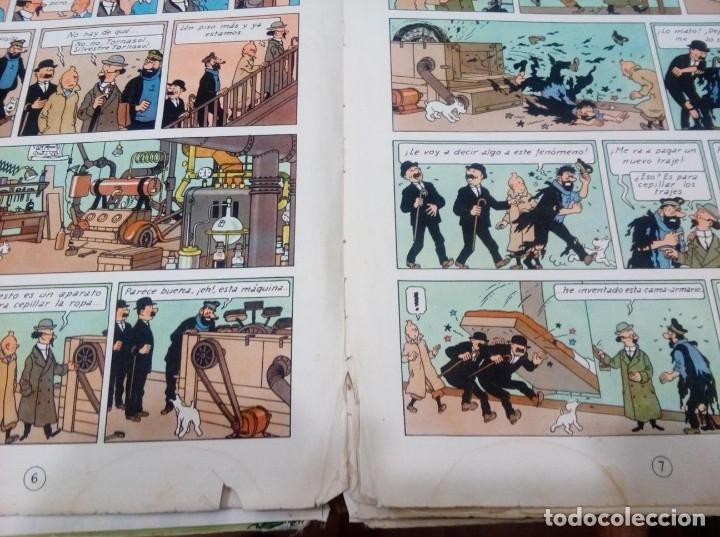 Cómics: HERGE - TINTIN - EL TESORO DE RACKHAM EL ROJO - JUVENTUD 1960, 1ª PRIMERA EDICION - VER DESCRIPCION - Foto 6 - 155612310