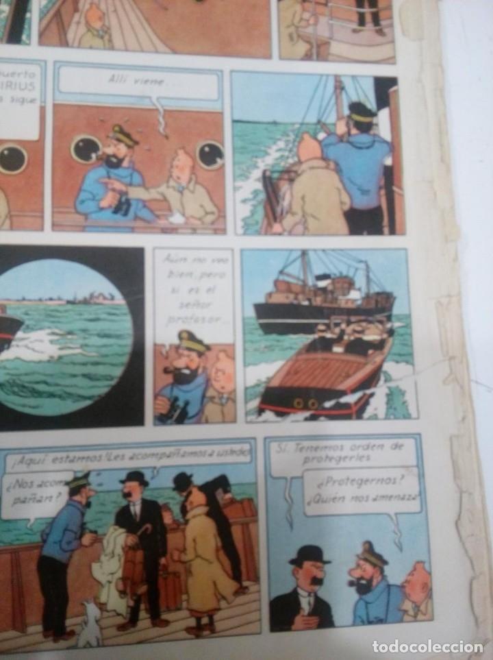Cómics: HERGE - TINTIN - EL TESORO DE RACKHAM EL ROJO - JUVENTUD 1960, 1ª PRIMERA EDICION - VER DESCRIPCION - Foto 8 - 155612310