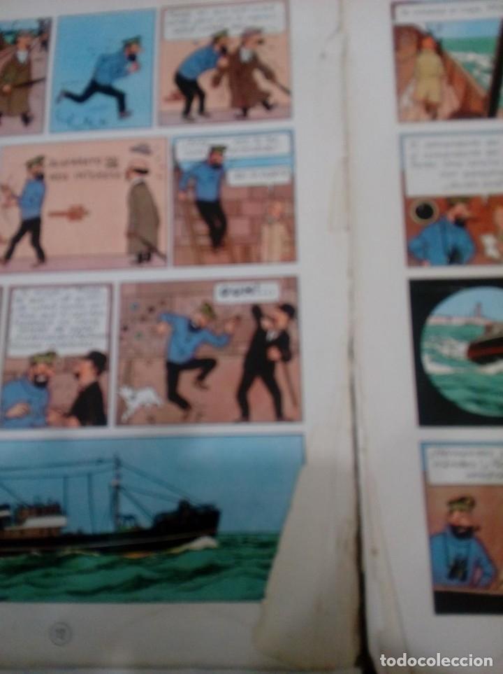 Cómics: HERGE - TINTIN - EL TESORO DE RACKHAM EL ROJO - JUVENTUD 1960, 1ª PRIMERA EDICION - VER DESCRIPCION - Foto 7 - 155612310