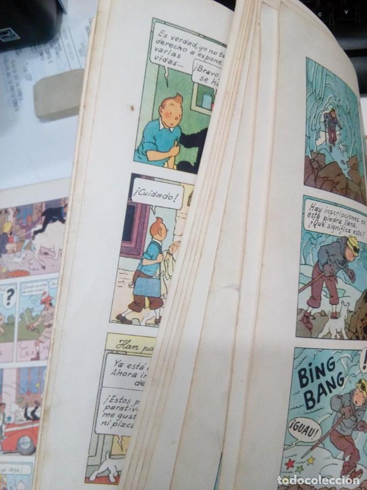Cómics: HERGE - TINTIN EN EL TIBET - EDITORIAL JUVENTUD 1962 1ª PRIMERA EDICION - DIFICIL, VER DESCRIPCION - Foto 8 - 155624306