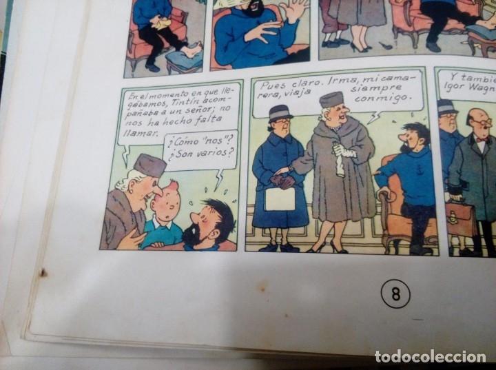 Cómics: HERGE - TINTIN - LAS JOYAS DE LA CASTAFIORE - JUVENTUD 1964, 1ª PRIMERA EDICION - VER DESCRIPCION - Foto 5 - 155625914