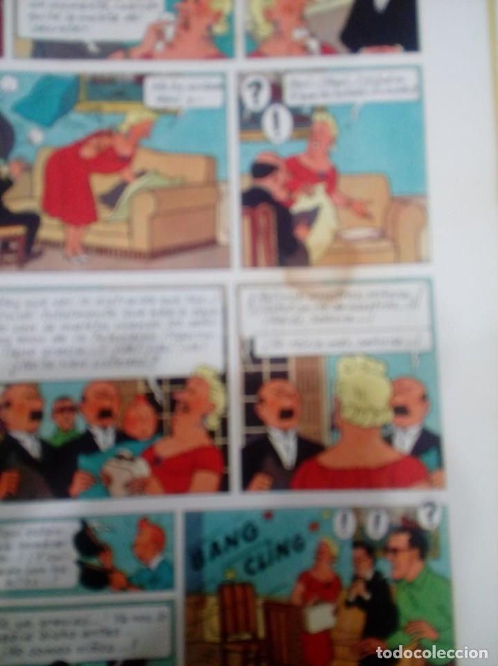 Cómics: HERGE - TINTIN - LAS JOYAS DE LA CASTAFIORE - JUVENTUD 1964, 1ª PRIMERA EDICION - VER DESCRIPCION - Foto 6 - 155625914