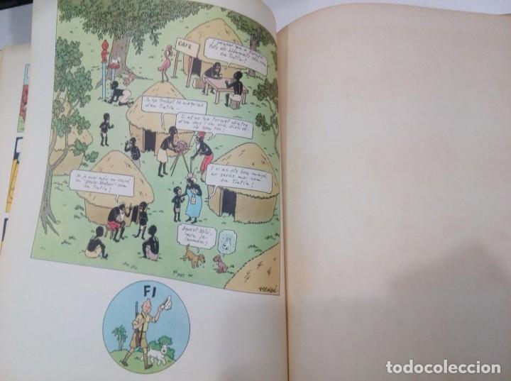 Cómics: HERGE - TINTIN AL CONGO - EDITORIAL JUVENTUD 1969, 1ª PRIMERA EDICIO - EN CATALA - BÉ - Foto 6 - 155626578