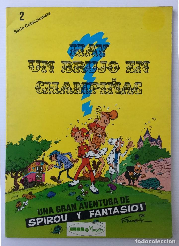 CÓMIC DE SPIROU Y FANTASIO – HAY UN BRUJO EN CHAMPIÑAC – SERIE COLECCIONISTA 2 – 1980 (Tebeos y Comics - Juventud - Otros)