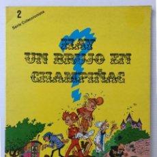 Cómics: CÓMIC DE SPIROU Y FANTASIO – HAY UN BRUJO EN CHAMPIÑAC – SERIE COLECCIONISTA 2 – 1980. Lote 255338655