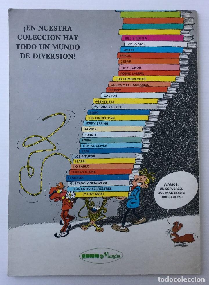 Cómics: Cómic de Spirou y Fantasio – Hay un brujo en Champiñac – Serie Coleccionista 2 – 1980 - Foto 2 - 155691150