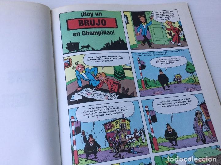 Cómics: Cómic de Spirou y Fantasio – Hay un brujo en Champiñac – Serie Coleccionista 2 – 1980 - Foto 4 - 155691150