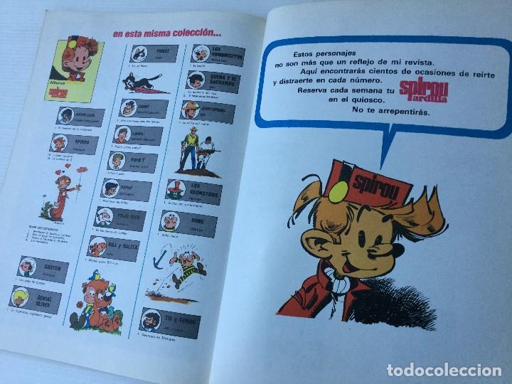 Cómics: Cómic de Spirou y Fantasio – Hay un brujo en Champiñac – Serie Coleccionista 2 – 1980 - Foto 9 - 155691150