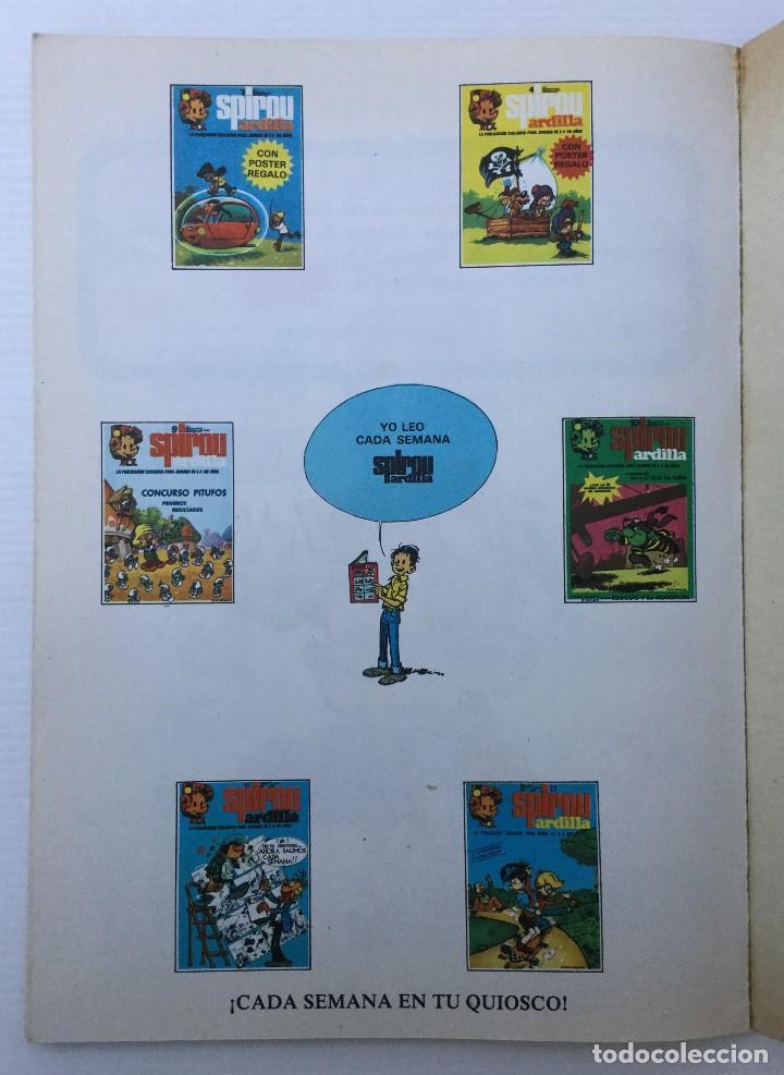 Cómics: Cómic de Spirou y Fantasio – Hay un brujo en Champiñac – Serie Coleccionista 2 – 1980 - Foto 10 - 155691150