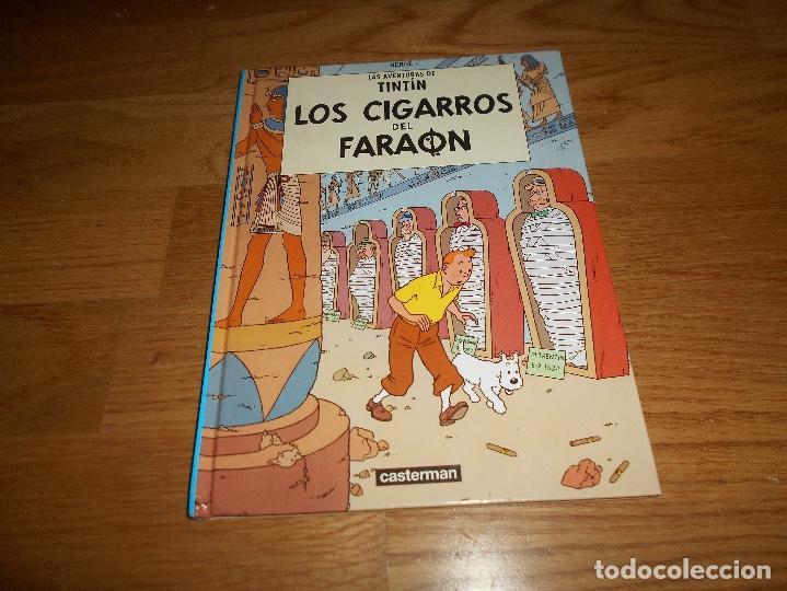 LOS CIGARROS DEL FARAON CASTERMAN MINI 2001 PERFECTO TINTIN HERGE (Tebeos y Comics - Juventud - Tintín)
