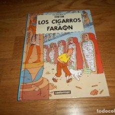 Cómics: LOS CIGARROS DEL FARAON CASTERMAN MINI 2001 PERFECTO TINTIN HERGE. Lote 155738458