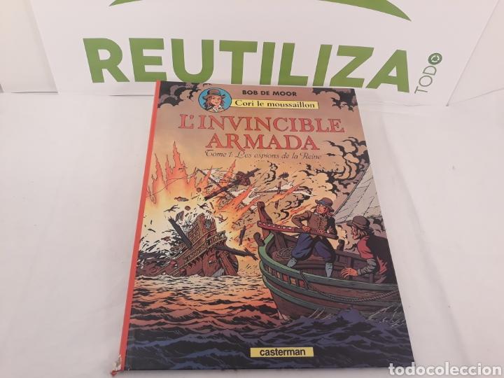 L'INVINCIBLE ARMADA.TOME 1 LES ESPIONS DE LA REINE.BOB DE MOOR. CASTERMAN 1978. (Tebeos y Comics - Juventud - Cori el Grumete)