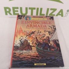 Cómics: L'INVINCIBLE ARMADS.TOME 1 LES ESPIONS DE LA REINE.BOB DE MOOR.CASTERMAN 1978.. Lote 155779441
