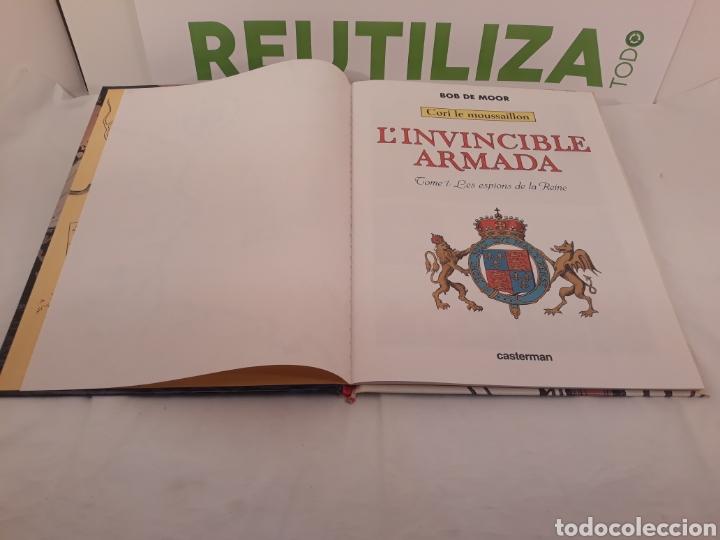 Cómics: Linvincible Armada.Tome 1 Les espions de la Reine.Bob de Moor. Casterman 1978. - Foto 3 - 155779441