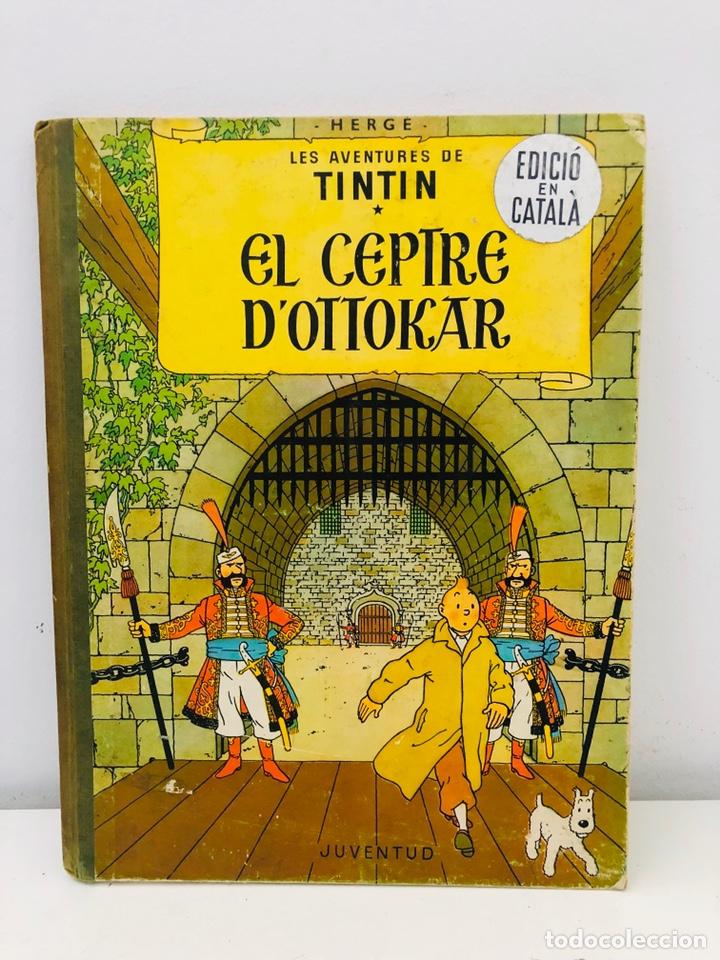 TINTÍN CEPTRE OTTOKAR (Tebeos y Comics - Juventud - Tintín)