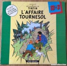 Cómics: TINTIN L'AFFAIRE TOURNESOL LP VINILO EDIC FRANCESA EXCELENTE. Lote 155908494