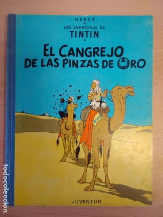 Cómics: Lote Tintín, Editorial Juventud. Lomo tela. Oreja, congo, America - Foto 6 - 155955018