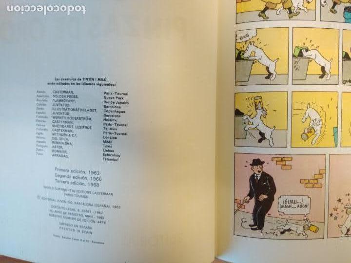 Cómics: Lote Tintín, Editorial Juventud. Lomo tela. Oreja, congo, America - Foto 7 - 155955018