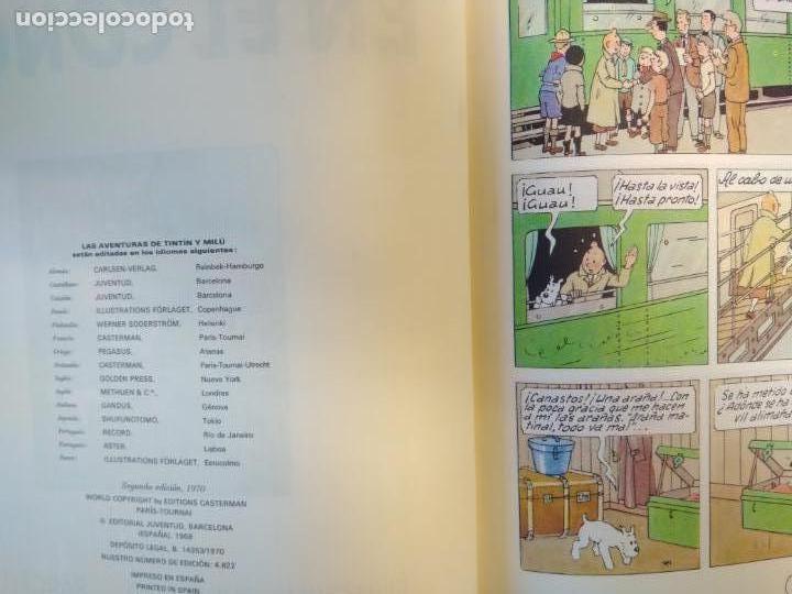 Cómics: Lote Tintín, Editorial Juventud. Lomo tela. Oreja, congo, America - Foto 8 - 155955018