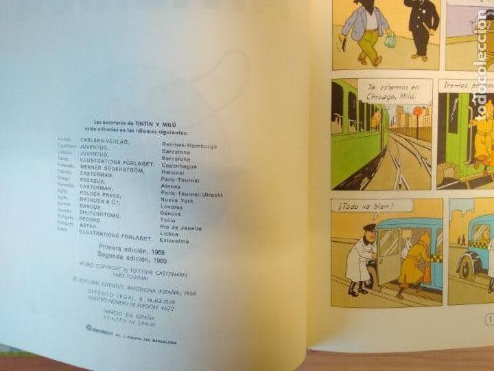 Cómics: Lote Tintín, Editorial Juventud. Lomo tela. Oreja, congo, America - Foto 9 - 155955018