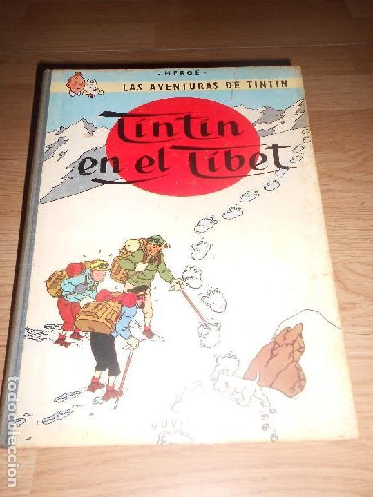 TINTIN EN EL TIBET - 4ª EDICIO 1970 - LOMO DE TELA (Tebeos y Comics - Juventud - Tintín)