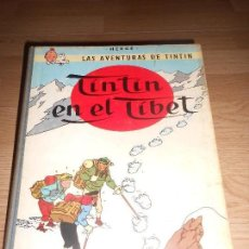 Cómics: TINTIN EN EL TIBET - 4ª EDICIO 1970 - LOMO DE TELA. Lote 155984846