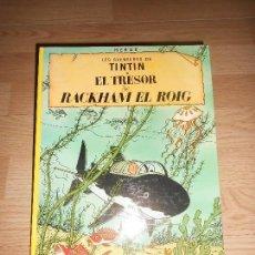Cómics: TINTIN EL TRESOR DE RACKHAM EL ROIG - 9ª EDICIO 1988 - EN CATALAN. Lote 155985842