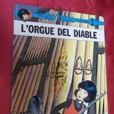 Cómics: L' ORGUE DEL DIABLE. YOKO TSUNO. Nº 2. JOVENTUT. 1991. 1ª EDICIÓ. EN CATALÁ. Lote 155999242