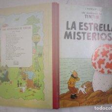Cómics: TINTIN, LA ESTRELLA MISTERI - HERGE - 2ª EDICION JUVENTUD 1964, BUENA CONSERVACION, ENTELADO + INFO. Lote 156258062