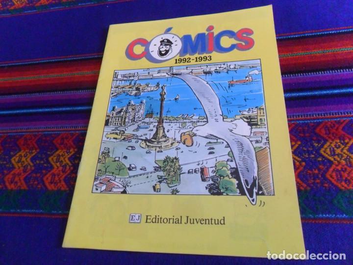 CÓMICS 1992 1993. EDITORIAL JUVENTUD CATÁLOGO. TINTIN 4 ASES CORI BARELLI YAKARI HARRY DICKSON. BE. (Tebeos y Comics - Juventud - Otros)