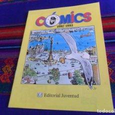 Cómics: CÓMICS 1992 1993. EDITORIAL JUVENTUD CATÁLOGO. TINTIN 4 ASES CORI BARELLI YAKARI HARRY DICKSON. BE.. Lote 156798142
