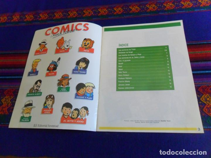 Cómics: CÓMICS 1992 1993. EDITORIAL JUVENTUD CATÁLOGO. TINTIN 4 ASES CORI BARELLI YAKARI HARRY DICKSON. BE. - Foto 2 - 156798142