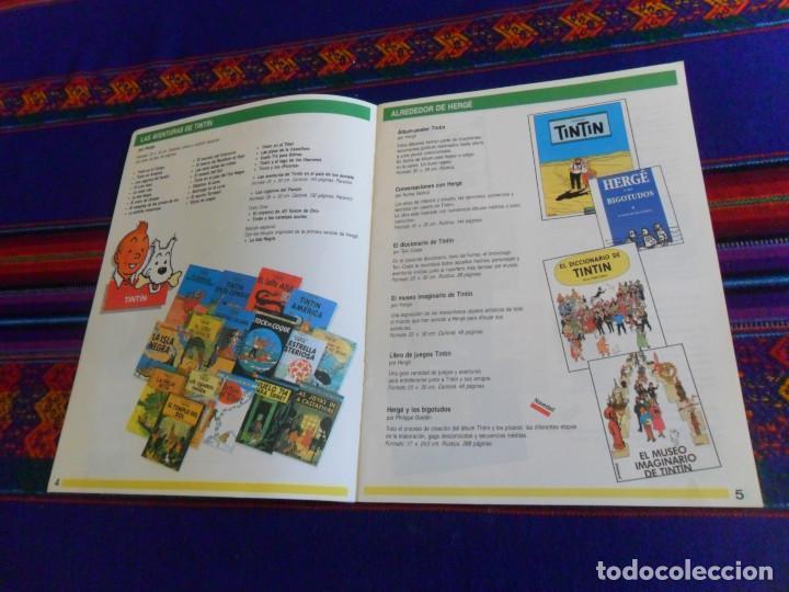 Cómics: CÓMICS 1992 1993. EDITORIAL JUVENTUD CATÁLOGO. TINTIN 4 ASES CORI BARELLI YAKARI HARRY DICKSON. BE. - Foto 3 - 156798142