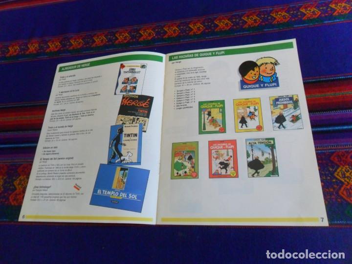 Cómics: CÓMICS 1992 1993. EDITORIAL JUVENTUD CATÁLOGO. TINTIN 4 ASES CORI BARELLI YAKARI HARRY DICKSON. BE. - Foto 4 - 156798142