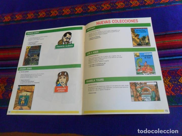 Cómics: CÓMICS 1992 1993. EDITORIAL JUVENTUD CATÁLOGO. TINTIN 4 ASES CORI BARELLI YAKARI HARRY DICKSON. BE. - Foto 5 - 156798142