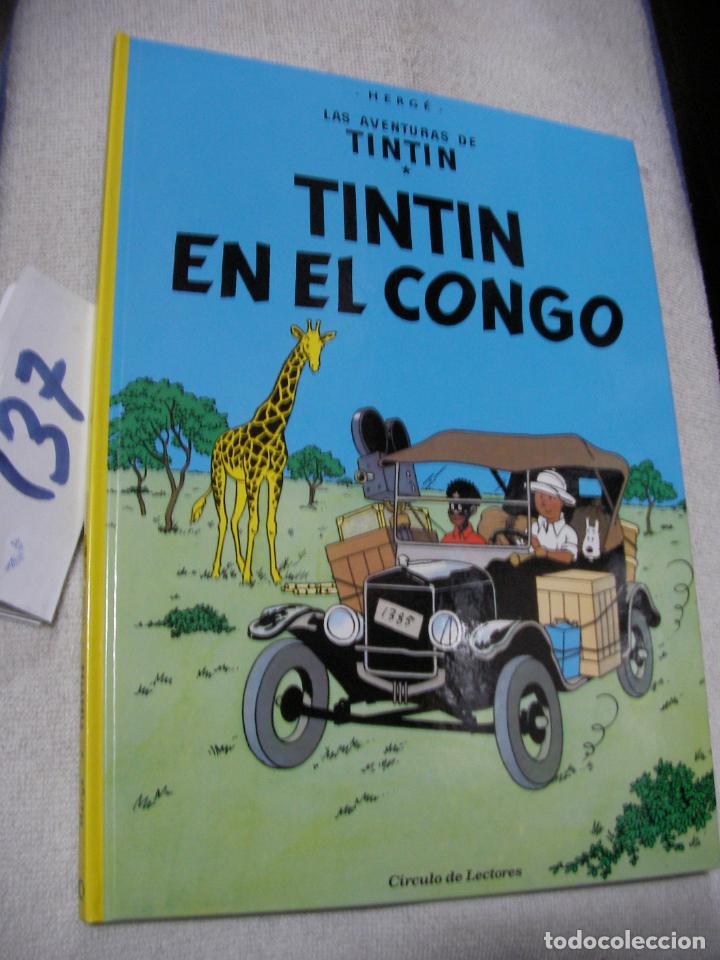 COMIC LAS AVENTURAS DE TINTIN - TINTIN EN EL CONGO (Tebeos y Comics - Juventud - Tintín)