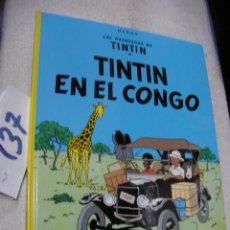 Cómics: COMIC LAS AVENTURAS DE TINTIN - TINTIN EN EL CONGO. Lote 156993950