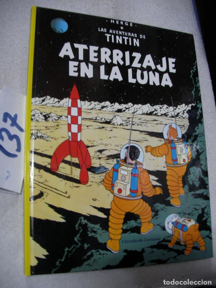 COMIC LAS AVENTURAS DE TINTIN - ATERRIZAJE EN LA LUNA (Tebeos y Comics - Juventud - Tintín)