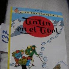Cómics: COMIC LAS AVENTURAS DE TINTIN - TINTIN EN EL TIBET. Lote 156994042