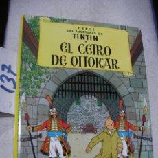 Cómics: COMIC LAS AVENTURAS DE TINTIN - EL CETRO DE OTTOKAR. Lote 156994066
