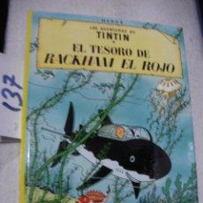 Cómics: COMIC LAS AVENTURAS DE TINTIN - EL TESORO DE RACKHAM EL ROJO. Lote 156994102