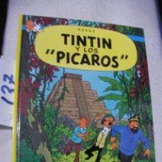 Cómics: COMIC LAS AVENTURAS DE TINTIN - TINTIN Y LOS PICAROS. Lote 156994246