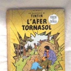 Comics : TINTIN L'AFER TORNASOL EDITORIAL JUVENTUD PRIMERA EDICIÓN AÑO 1967 DE HERGÉ CATALÁN. Lote 157159402