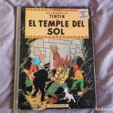 Comics : TINTÍN EL TEMPLE DEL SOL 1ª EDICIÓN DEL AÑO 1965 IDIOMA CATALAN. Lote 157231950
