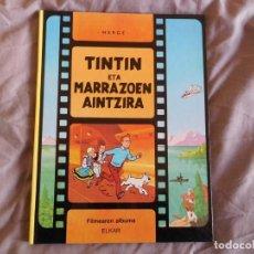 Cómics: TINTÍN ETA MARRAZOEN AINTZIRA 1ª EDICIÓN DEL AÑO 1990 IDIOMA EUSKERA. Lote 157232910