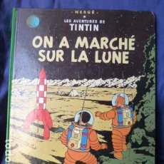 Cómics: LES AVENTURES DE TINTIN -ON A MARCHE SUR LA LUNE -EN FRANCES-. Lote 157659862