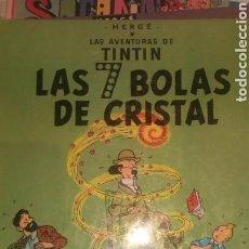 Cómics: TINTIN LAS 7 BOLAS DE CRISTAL CUARTA EDICION. Lote 157834222