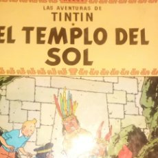 Cómics: TINTIN EL TEMPLO DEL SOL TERCERA EDICIÓN. Lote 157834808